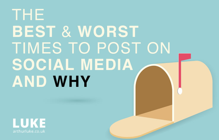 The best and worst times to post on social media and why