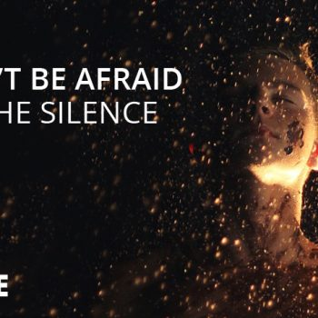 Don't be afraid of the silence!