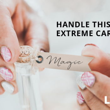 handle this with extreme care!